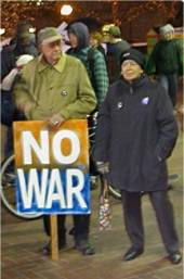 Ursula Le Guin protests the war on Iraq